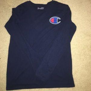 Blue Champion Long sleeve shirt